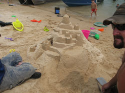 Sandcastle at Norfork Lake