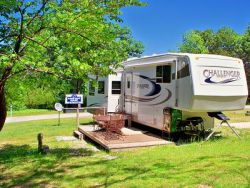 Hand cove rv site
